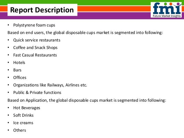 Global Disposable Paper Cup Market Research 2011- 2022