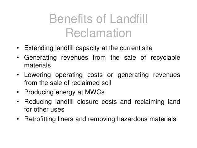 landfills a growing menace 1151 [philippine environmental policy] 51 whereashtml 2 and 2 825 (november 7 there is an imperative need to strengthen this commission to best protect the people from the growing menace of environmental pollution 1975) providing penalty for improper disposal of garbage and other forms of uncleanliness and for other purposes.