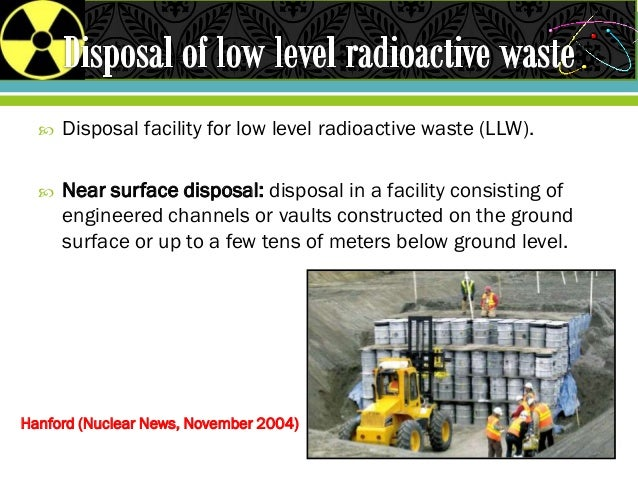 transportation and disposal of radioactive waste 9 marvin resnikoff, the next nuclear gamble: transportation and storage of nuclear waste,  disposal of radioactive waste, briefing paper, october 1984, p 1.
