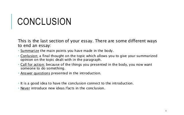 how to end an essay - Elita.mydearest.co