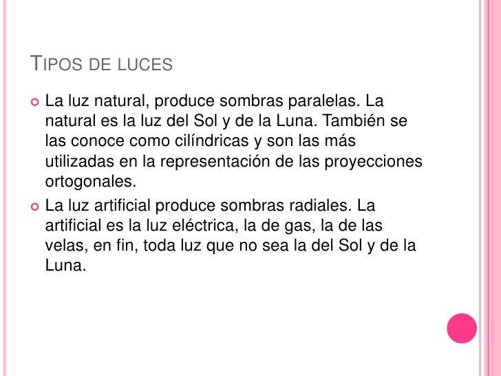 Luces y sombras - Tipos de iluminacion ...