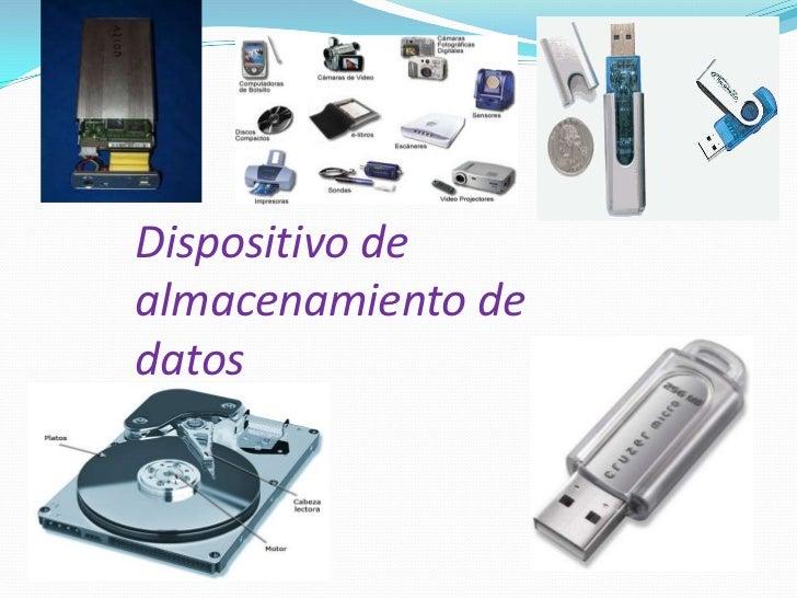 Dispositivo de almacenamiento de datos<br />