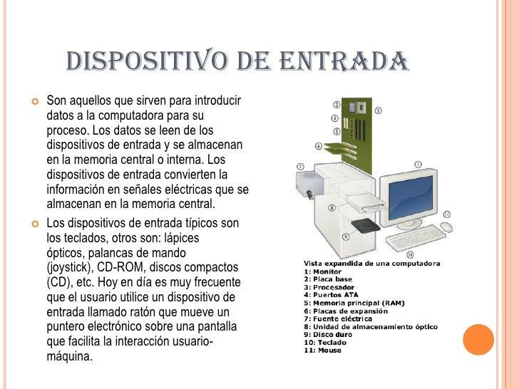 Dispositivo de entrada y salida for Funcion de salida