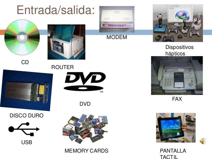 Dispositivos De Entrada Y Salida De Una Computadora Mind42