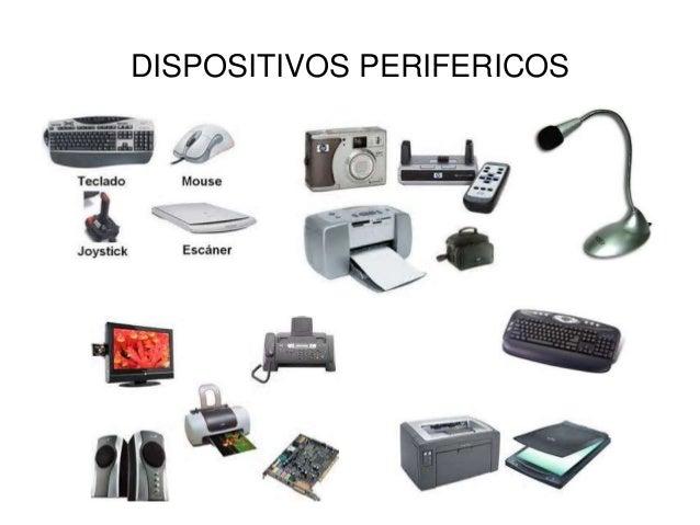 Memorias >> Dispositivos perifericos