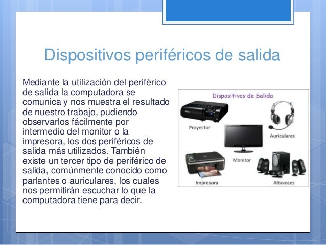 Dispositivos Perif 233 Ricos