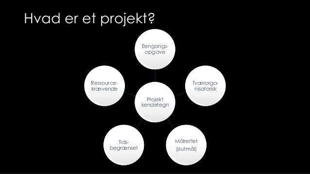 hvad er et projekt