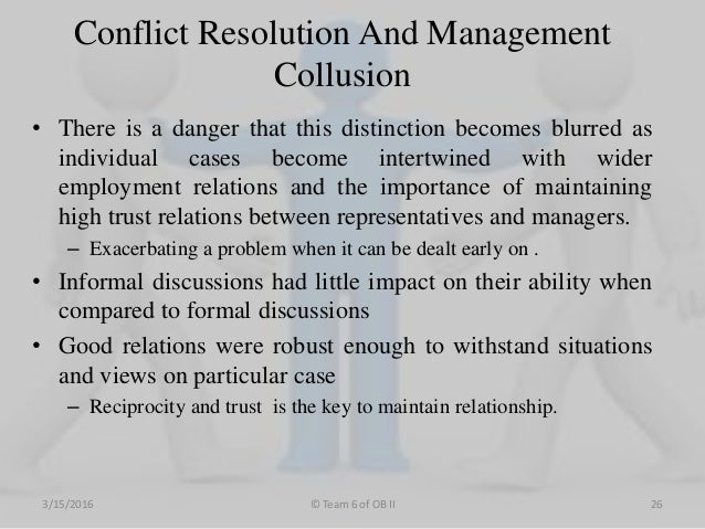 workplace conflict resolution a case Ten strategies for conflict resolution • when angry, separate yourself from the situation and take time to cool out • attack the problem, not the person.