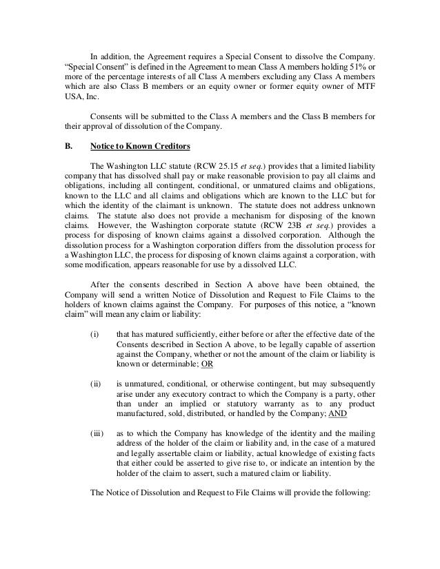 Business Dissolution Agreement   Radioberacahgeorgia.tk