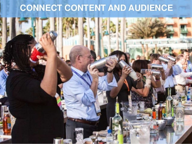 CONNECT CONTENT AND AUDIENCE