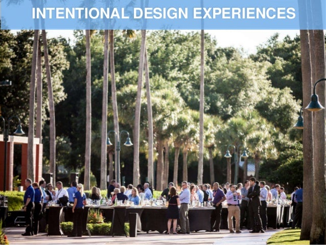 INTENTIONAL DESIGN EXPERIENCES