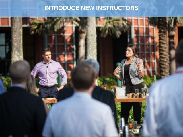Imagination at work INTRODUCE NEW INSTRUCTORS