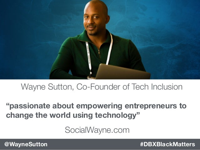 Disrupting Tech With Diversity and Inclusion  Slide 3