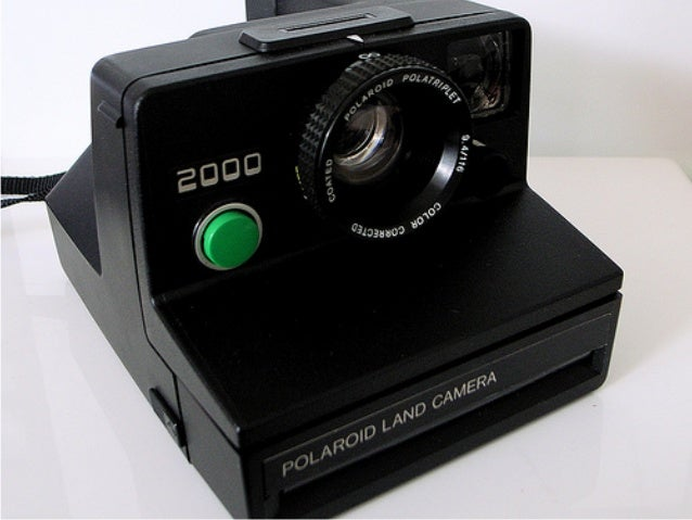 Polaroid believed firmly in innovation:'Do not undertake the program unless thegoal is manifestly important and itsachieve...