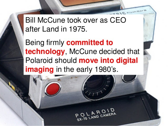 For the first time ever, Polaroid experienced stagnatingprofits in the mid 1980's. As a consequence, the firmbecame increa...