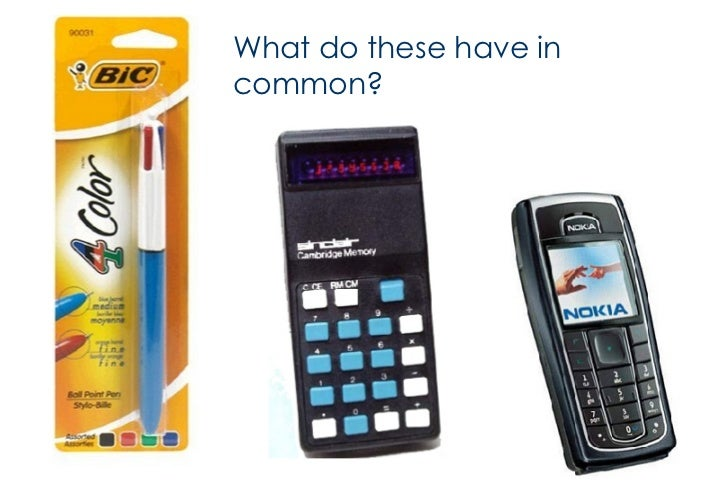<ul><li>What do these have in common? </li></ul>