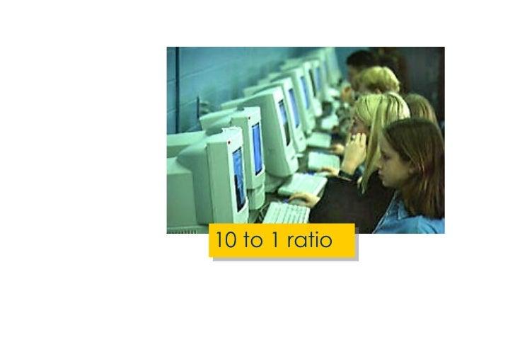 <ul><li>10 to 1 ratio </li></ul>