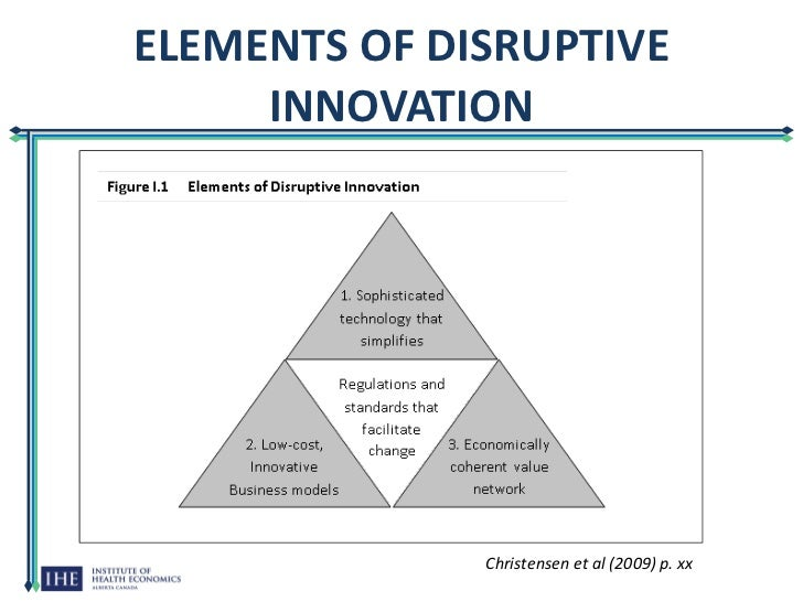 disruptive innovation Uber is not genuinely disruptive at least, so says clayton christensen, the harvard business school professor who coined the term disruptive innovation in his 1997 book, the innovator's dilemma.
