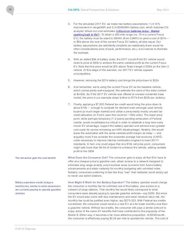 Disruptive Innovations 2014 / CITI