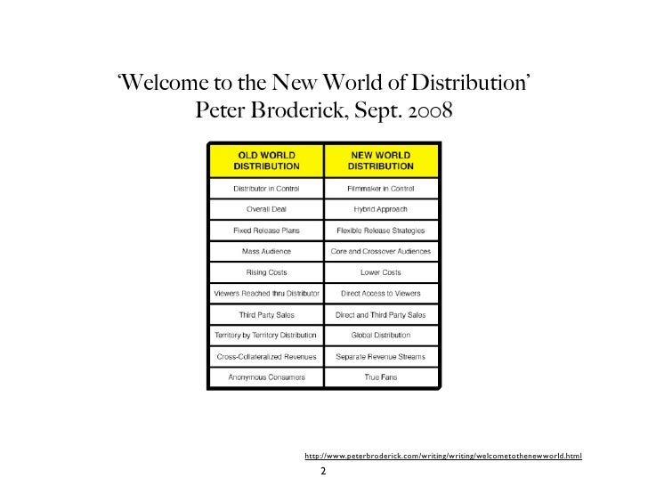 Disruptive Innovations in Distribution: Who Owns the Screen? Slide 2