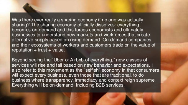 Was there ever really a sharing economy if no one was actually sharing? The sharing economy officially dissolves: everythi...