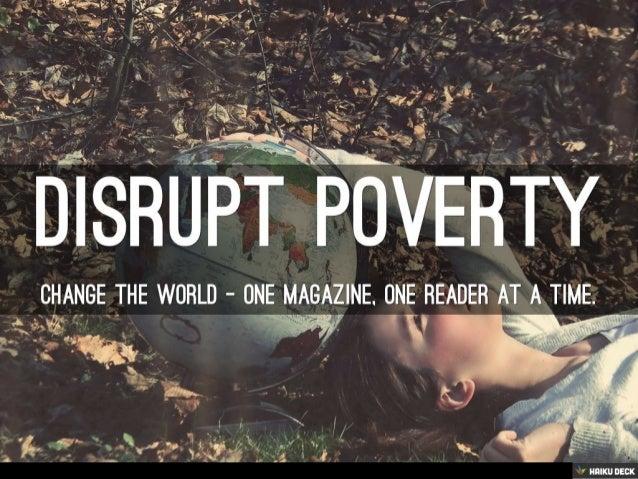 Disrupt Poverty