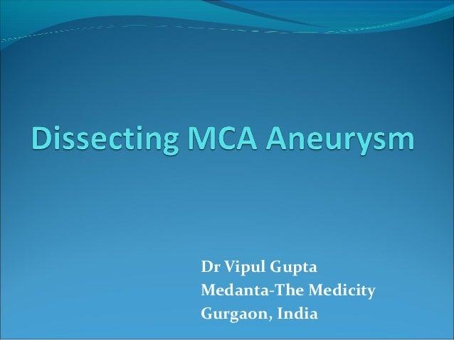 Dr Vipul Gupta Medanta-The Medicity Gurgaon, India