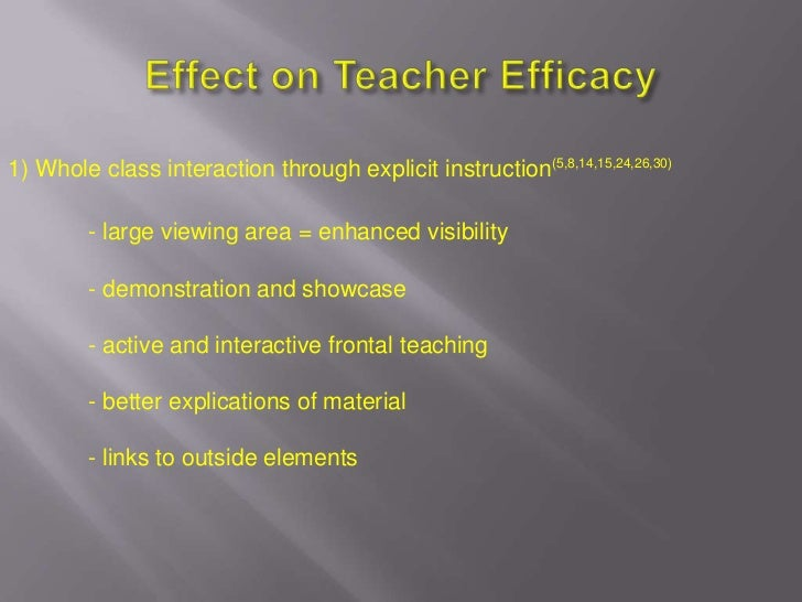 Teacher Efficacy: Its Meaning and Measure - Megan ...