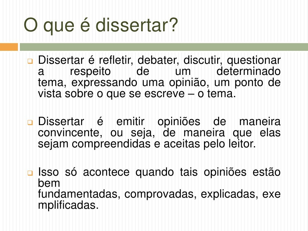 Passos para uma boa dissertação