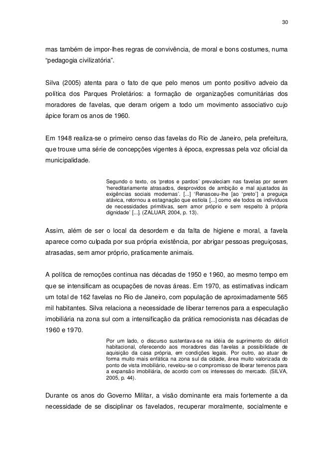 """30 mas também de impor-lhes regras de convivência, de moral e bons costumes, numa """"pedagogia civilizatória"""". Silva (2005) ..."""