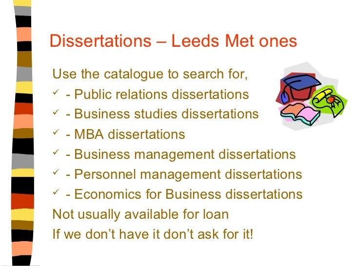 Dissertation archive