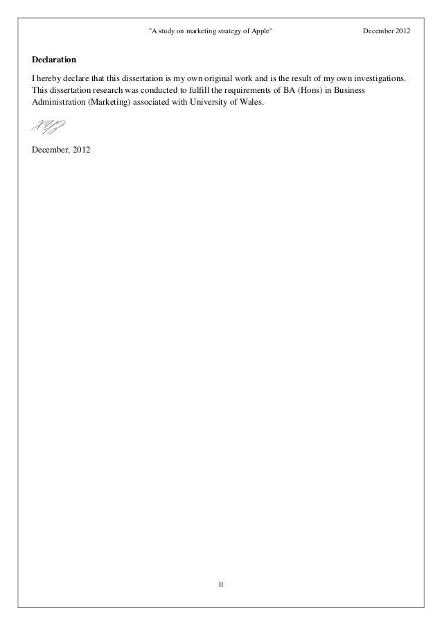 apple marketing strategy pdf