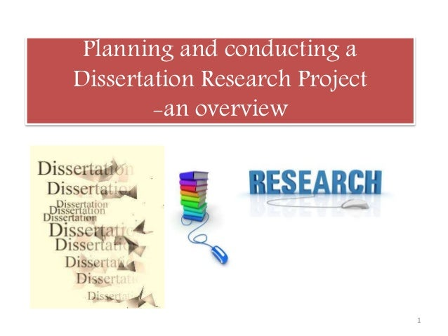 planning dissertation research
