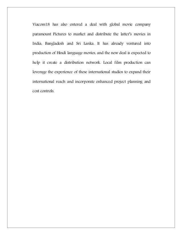 film dissertation examples