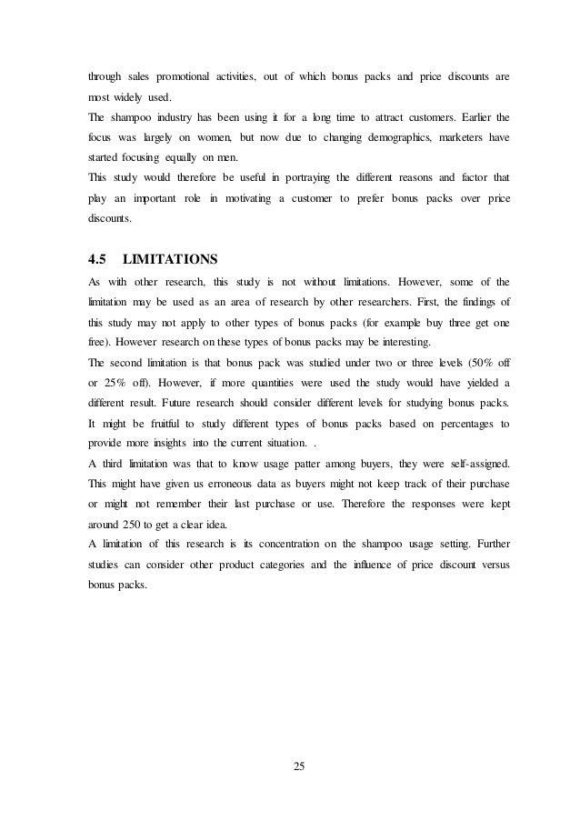 Preference dissertation