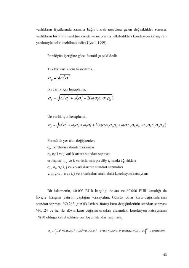 Dissertation on financial risk management