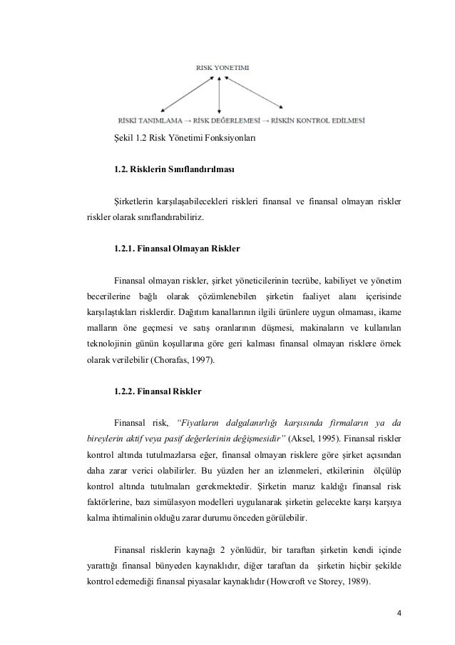 Phd thesis on financial risk management