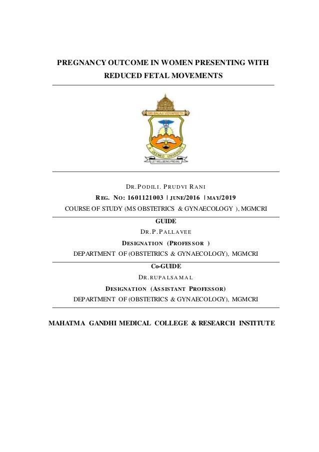 dissertation on placenta previa