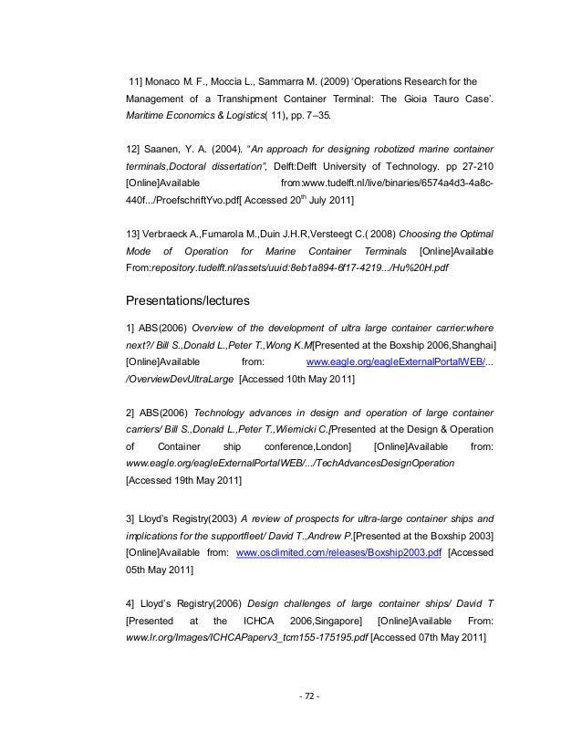 Master thesis proposal international relations
