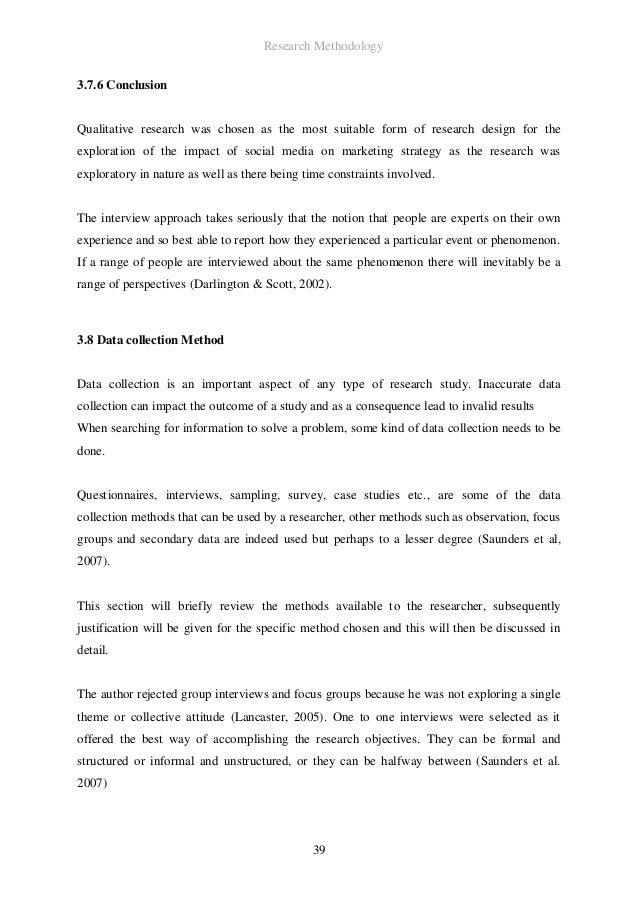 Dissertation qualitative research methods