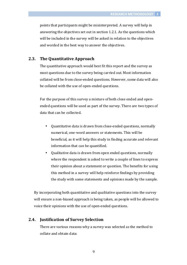 Dissertation research methodology questionnaire