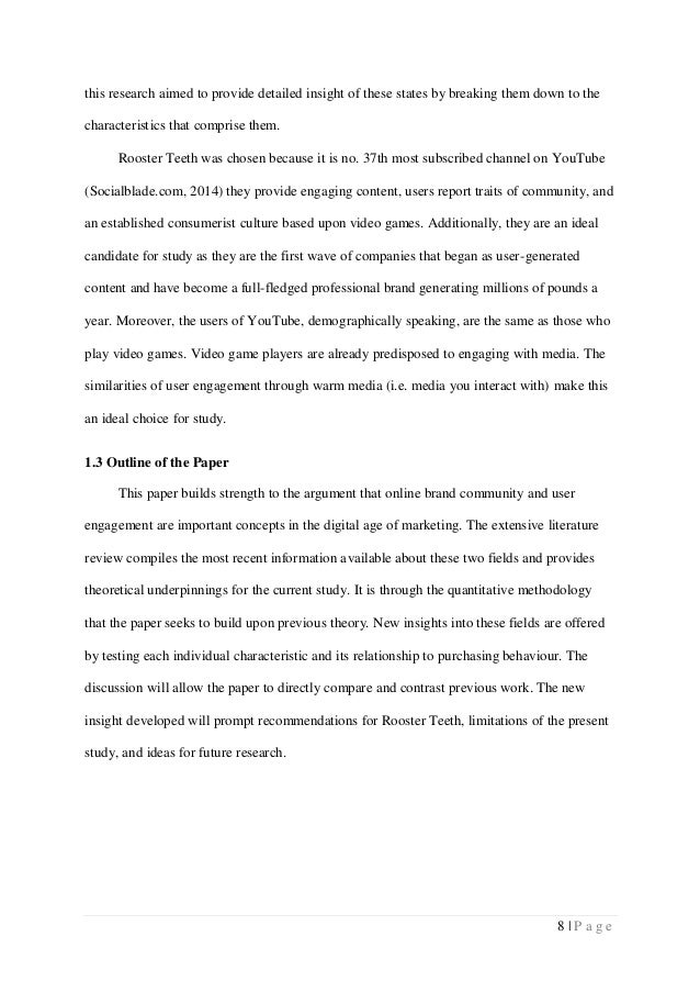 writing a good outline research paper
