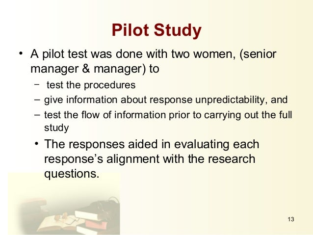 dissertation and pilot 256 chapter 5 pilot study 1 introduction the pilot study of the current research was the first step of the practical application of the gestalt play therapy.