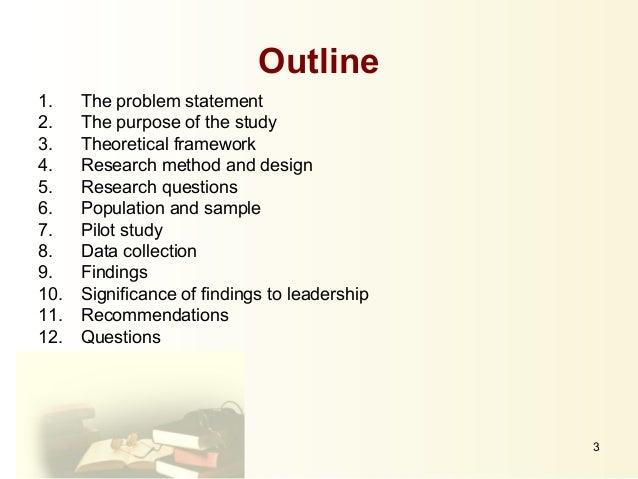 Dissertation presentation slides