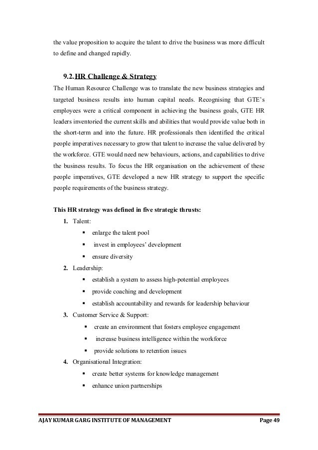 dissertation report in hr Study-aidscouk has the best sample hrm dissertations available on the internet human resource management hrm dissertation topics.