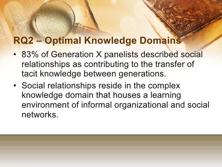 Dissertation knowledge transfer