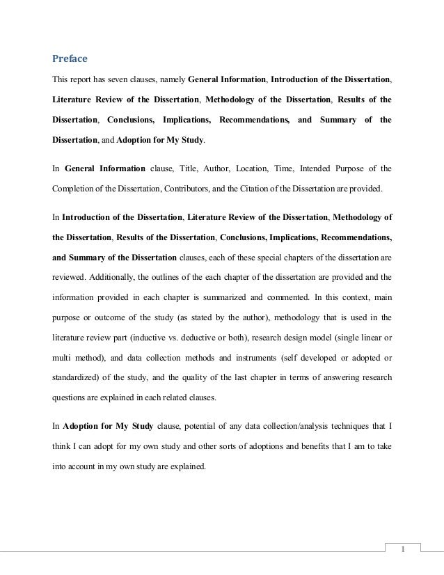Searching for Dissertation Samples or Want to Do Methodology Example Analysis?