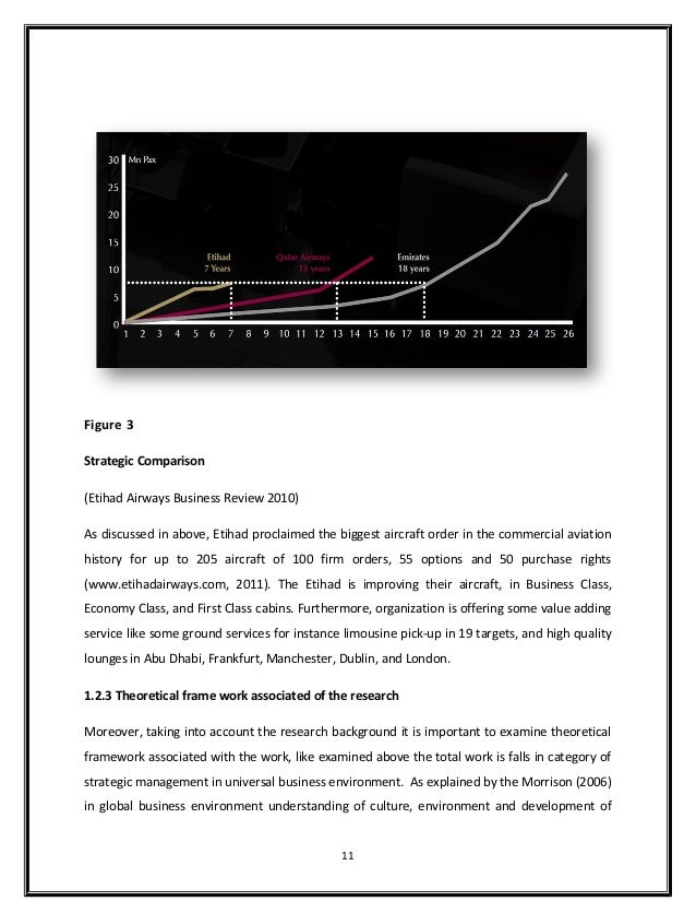 market research and analysis of etihad airways Sample essay etihad airways has a number of strengths at its disposal that can be used to overcome most of the internal weaknesses, and external threats and utilize potential opportunities that are currently present or may arise in the course of time.