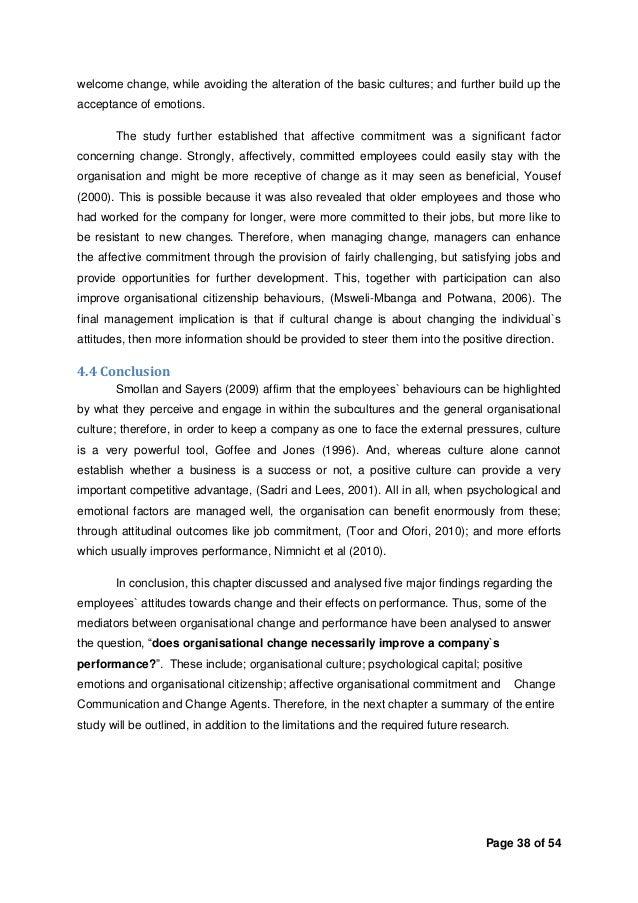 Dissertation on change management degrees