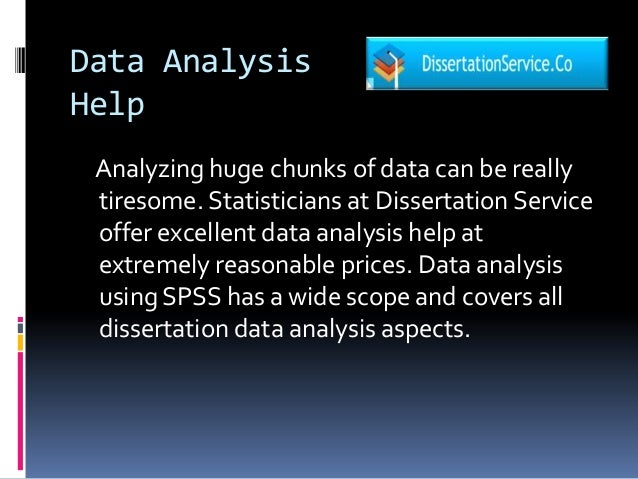 Our Professionals Can Help You with the Data Analysis Methods